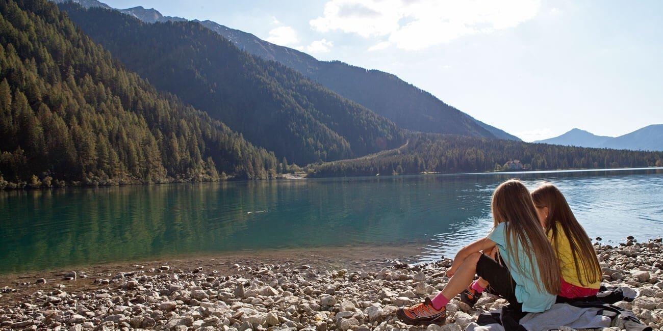 Baden im Antholzer See