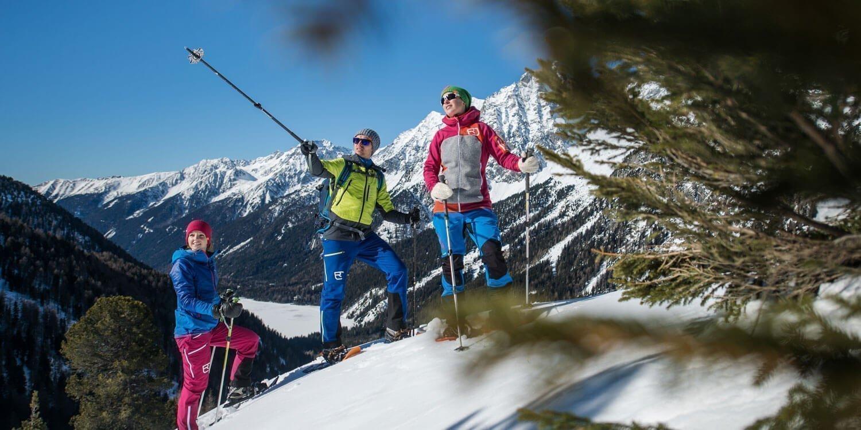 Winterwandern, Schneeschuhwandern & Rodeln